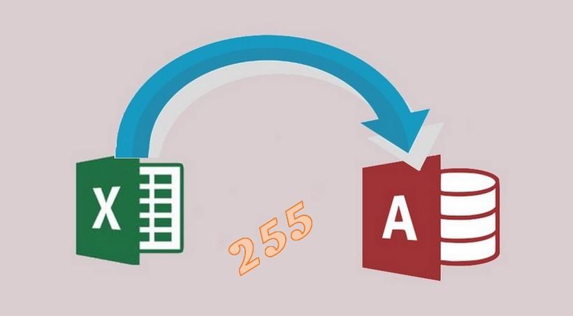 Accesse Excelden veri alırken 255 karakter sınır sorunu